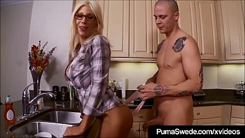 swede double threesome puma with Body check part 1
