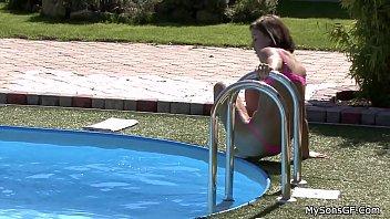 girls outdoor videos collage sex indian Impregnation no birth control creampie threesome