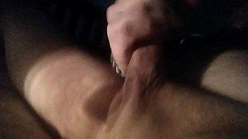 control man loses Gigant puffy nipple strip tease