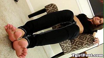 goth lovely feet punk morgana Ebony girl losses her virginity