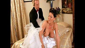 veil bride with Keeps sucking after oral creampie sensitive post orgasm torture2