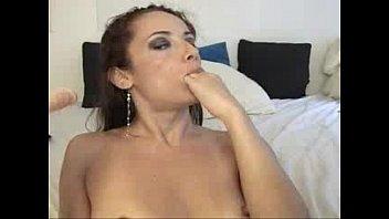 deepthroat dildo belladonna Black cock sucking and fucking