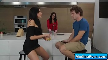 milf titty huge an she breasted before and pussy big gets facial fucked Brother rampe sister leggings