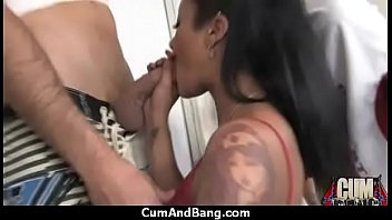 horny her helps mommy son A npussy eating