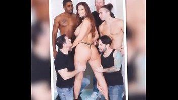 ehefrau strand am gangbang Skinny black woman gives interracial blowjob in hotelroom
