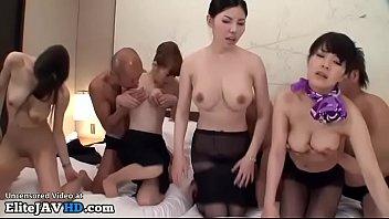 uncensored orgy piss japanese lesbian Goten y su madre