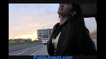 outside innocent blackmail station publicagent train Sunny leone 18 year old