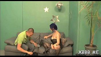 pump balls gay Porno a bain