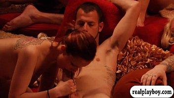 group sex swinger Female cum licking