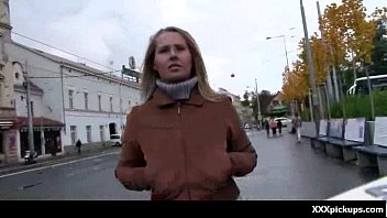 picked up streets the on Super hot lady peeing through her pantyhose