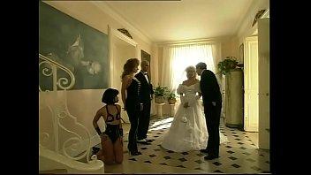 with veil bride Teen milf orgy
