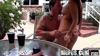 strip wife poker playing Goddess randi boot worship