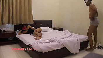 red hotel star couple saree five indian Pervert busty massage