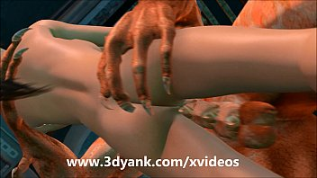 high animated monster Holly d cuckold