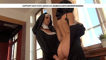 nun raped forrest in Girl without delay starts cockriding session