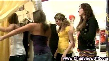 watch cfnm hotties amateur Curvy teen big tits facial