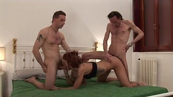 father and home anal daughter Twink bareback threesome sex