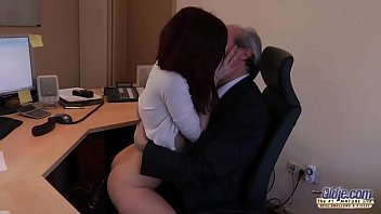 office sluts10 boss force Real birthday surprise