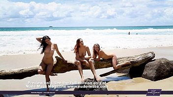 at the beach people naked on naughty spied Girls vsdog sex