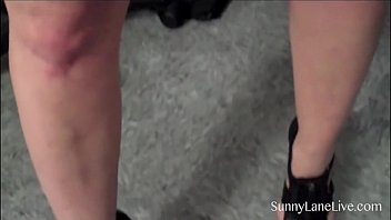 sunny hot loene Daughter home sex video