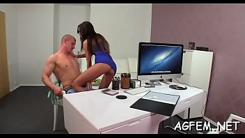 agent hd female Blonde girl riding cock