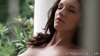 pussy fingers busty babe her tight 2 lesbian toy lovers