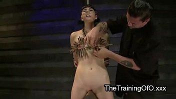 anal tied slave Secretary seduces the client7