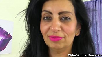 english mature fucking son mum Busty teacher masturbating while schoolgirl watching her kissing passionately in the classroom