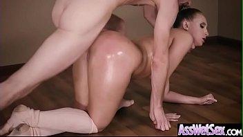 insertion deep anal Milf massage team