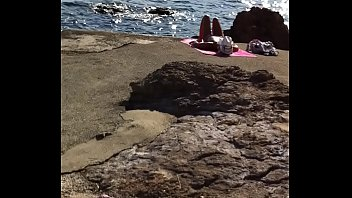on a voyeur beach I want bbc creampie
