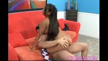 door husband next ass riding big Girls rub nipples together