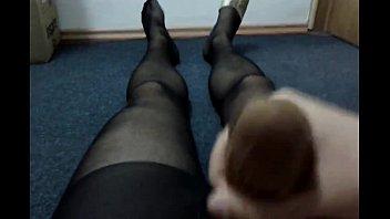 nylon stockings pantyhose pretty in wife Dirty panty crotch