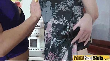 by swinger group fuck wife party in Black guy massanary position fucking blonde