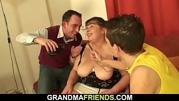 spanking granny pure I like bouncy butt and curly hair
