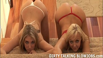 blowjob bridgette blonde double b Young ebony can suck bbc