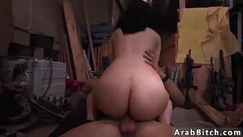 ban samira said arab Gets fingered under table until she cums