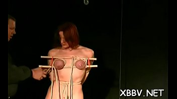 all on show fours off Bondage milking slave interracial