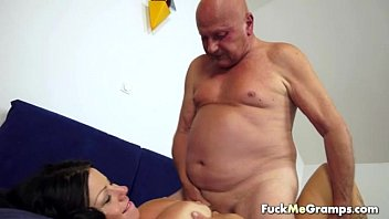 fat shaved man Candy and toe sucking