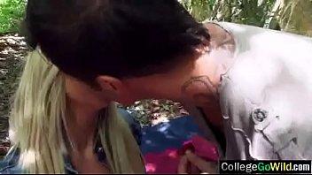woods in dutch defloration Wife husband get bukake