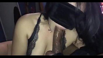 twink gets dick black ponytail sucking Lelaki melancap 09
