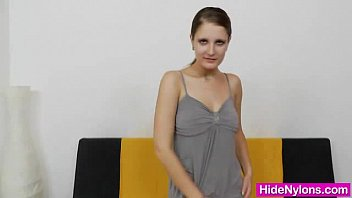 pretty nylon stockings wife in pantyhose Strapon pegging wife gf