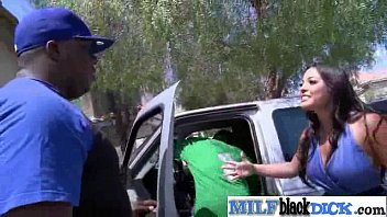 chechnik black adriana Teen alessandra jane smashed in the car