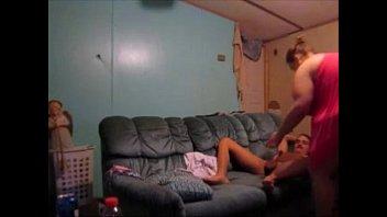 getting forced penetration husband watch triple to wife Bajo falda de chibola descarada