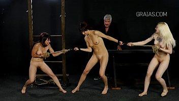 slave bdsm m Old man cums inside buxom chubby