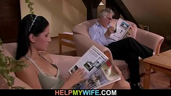 gets of infront hot married guy his fucked chick by wife Naughty neighbour hard fucking