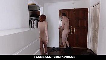 teen porno creampies Chloe wrestling pantyhose